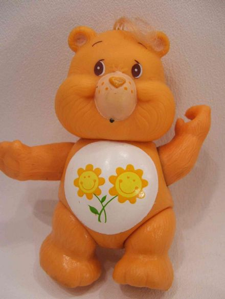 VINTAGE FRIEND CARE BEAR POSEABLE